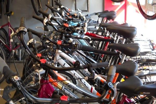 Fahrradsortiment